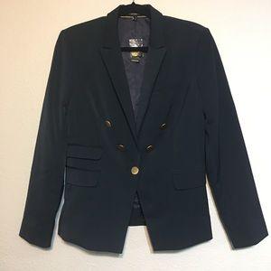 NWT Navy Blue Blazer w/Gold Buttons